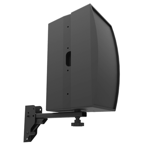 SM-075-ASB | 50lb Indoor Wall Socket Speaker Mount
