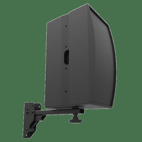 SM-075-ASB | 50lb Indoor Wall Socket Speaker Mount