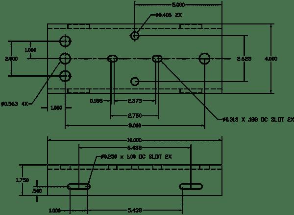 polestar-marine-pm-mount-6-up-drawing