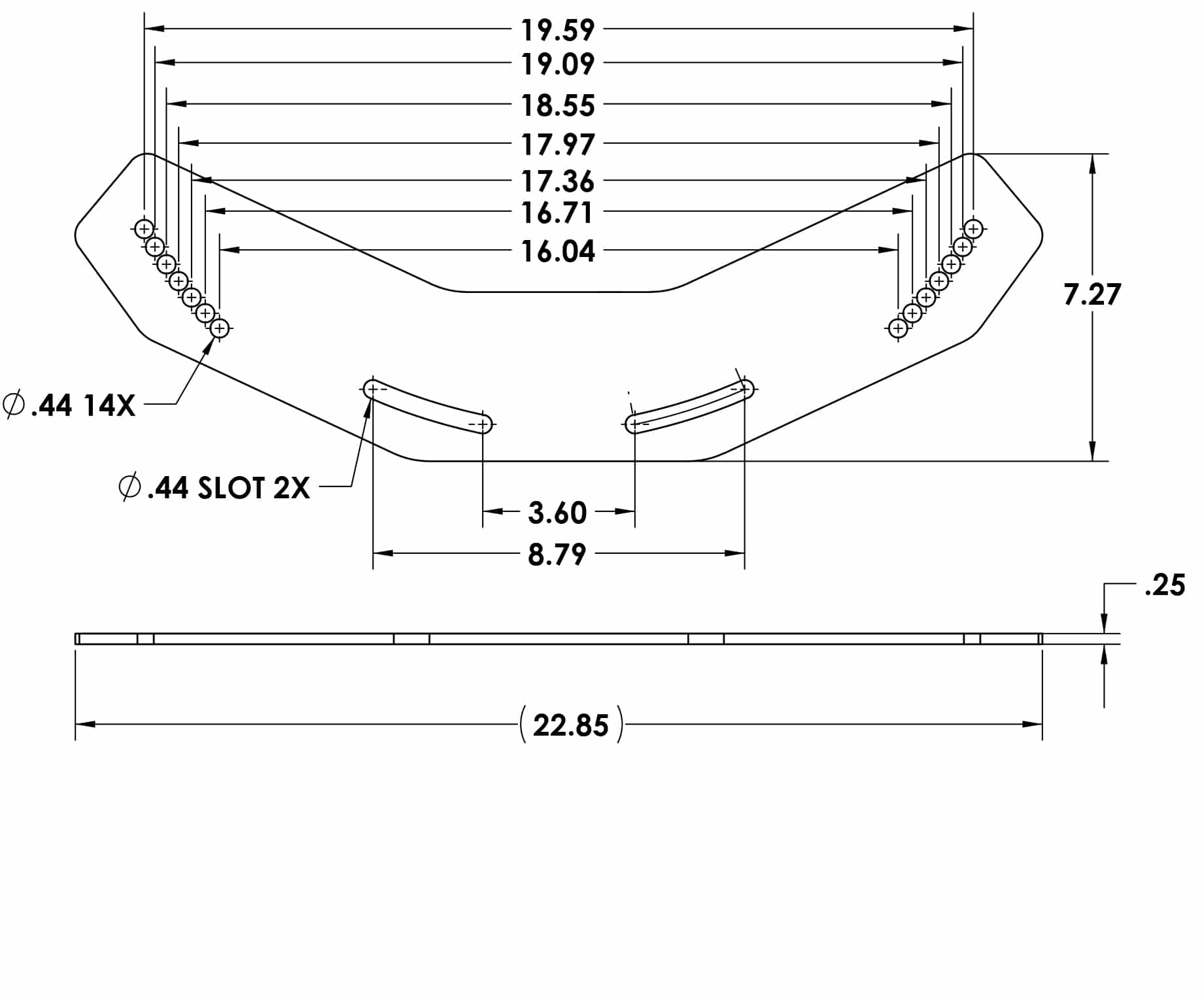 7-3320 JOINER PLATE FP-DX1595-