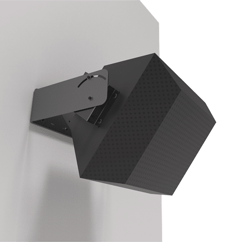 UB-QX500 and QX300 | EAW QX500 and QX300 3 Piece U-Bracket Speaker Mount