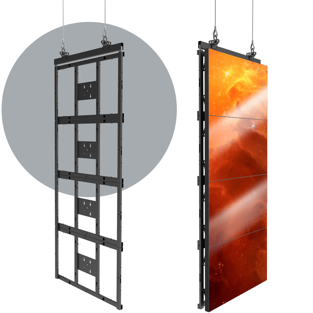 Flyable LCD LED Video Walls   Adaptive Technologies Group