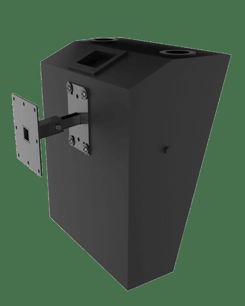 Cinema Surround Mounts - 15 degree tilt speaker mount