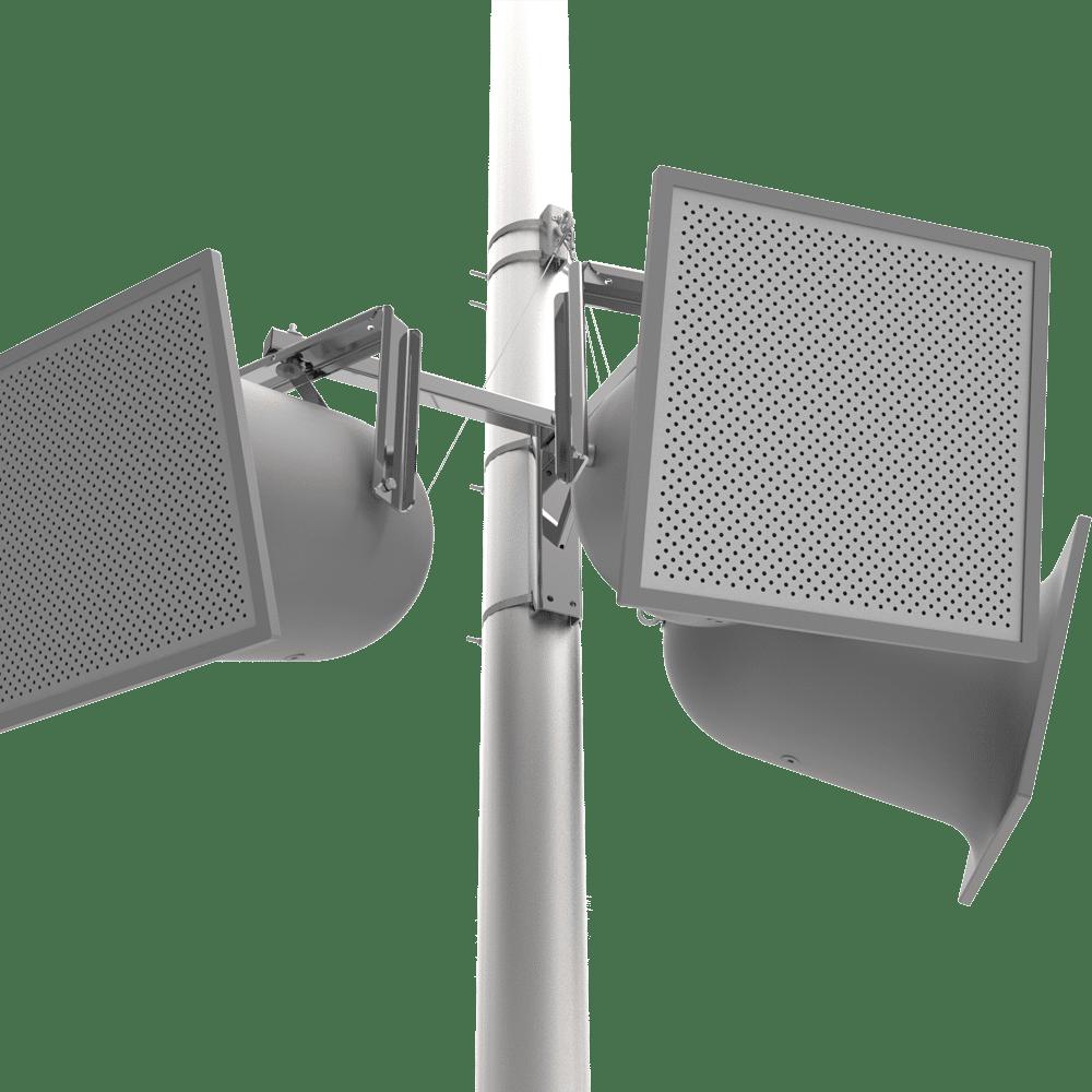 Outdoor Audio Pole Mounts | Adaptive Technologies Group