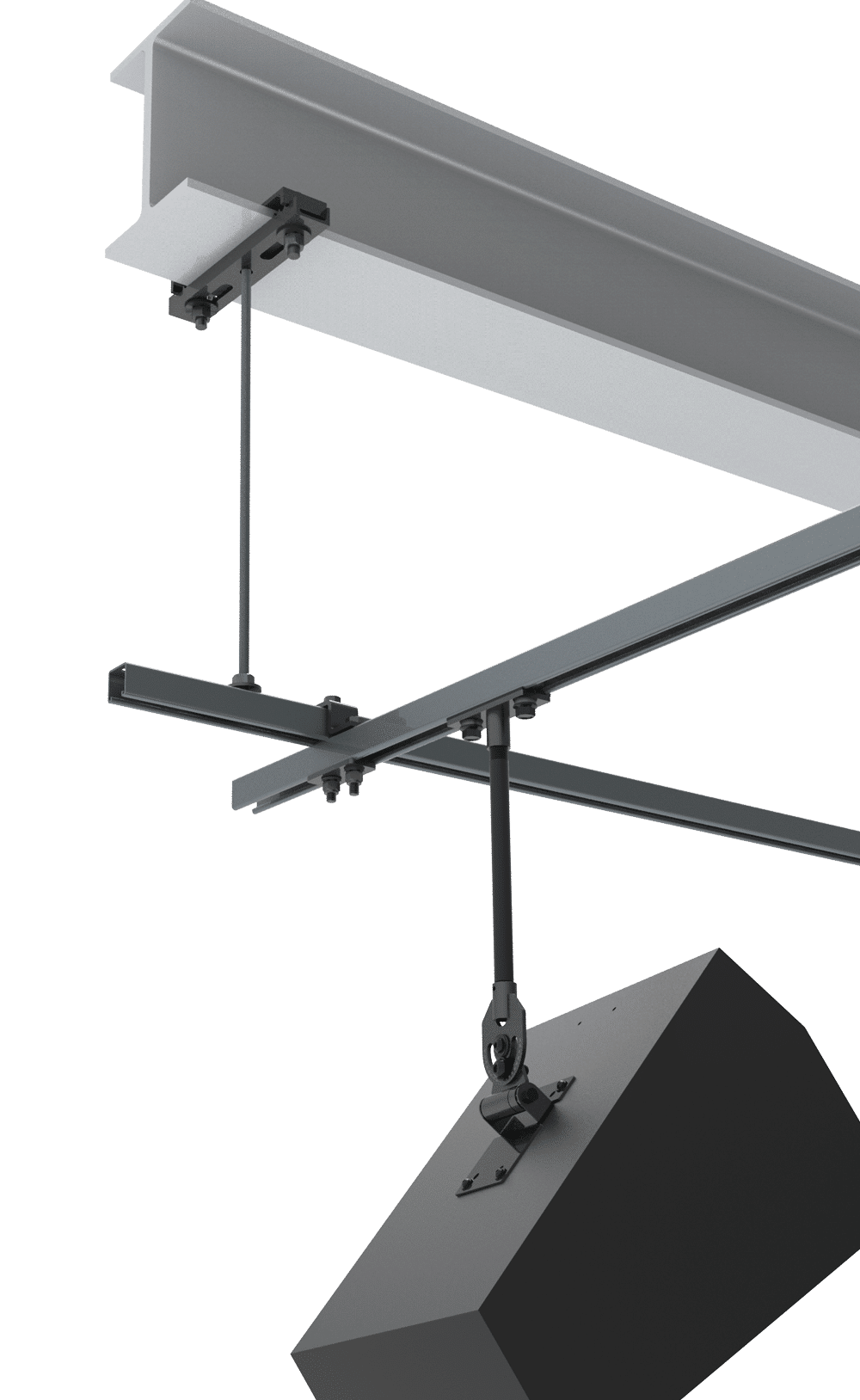 Beam Clamp Configurations Open Hang Point | Adaptive