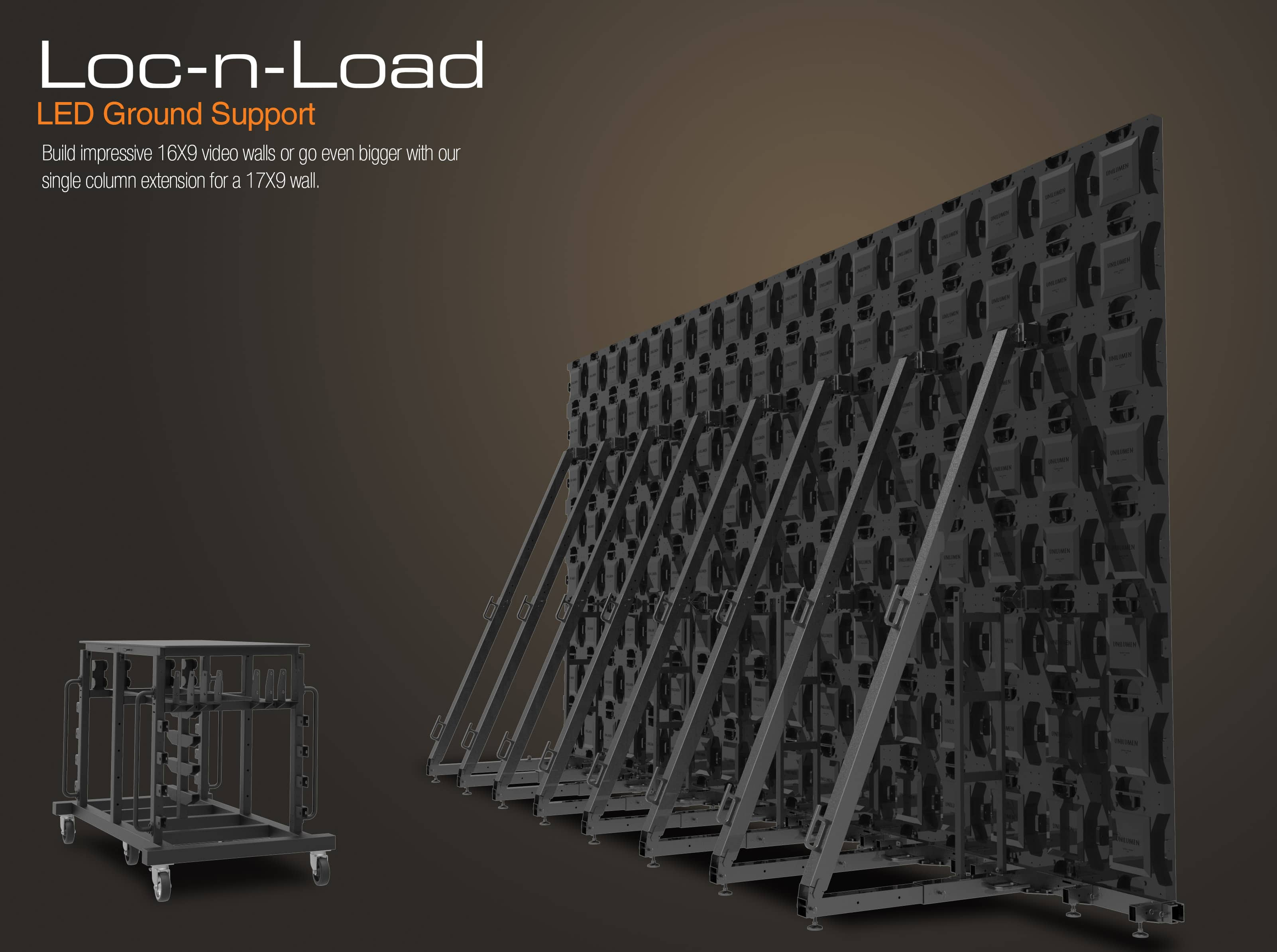 LED Ground Support System   LED Video Walls   Adaptive